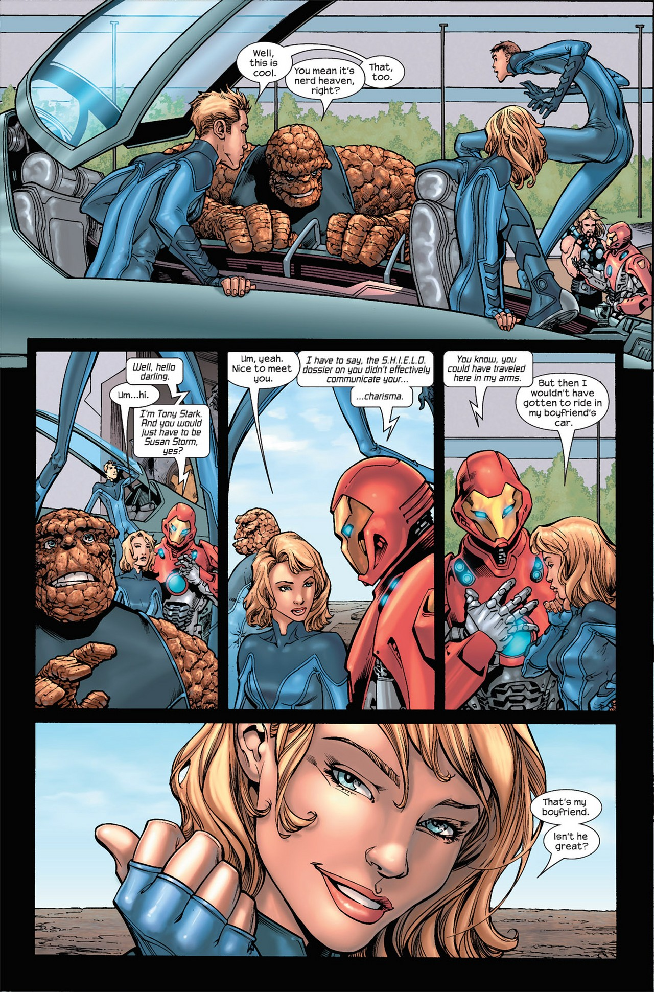 Read online Ultimate Secret comic -  Issue #3 - 3