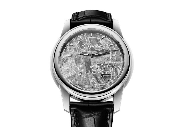Romain Gauthier Prestige HMS Stainless Steel with Meteorite Dial