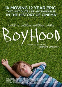 Poster original de Boyhood