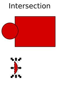 Memotong Object menggunakan Intersection