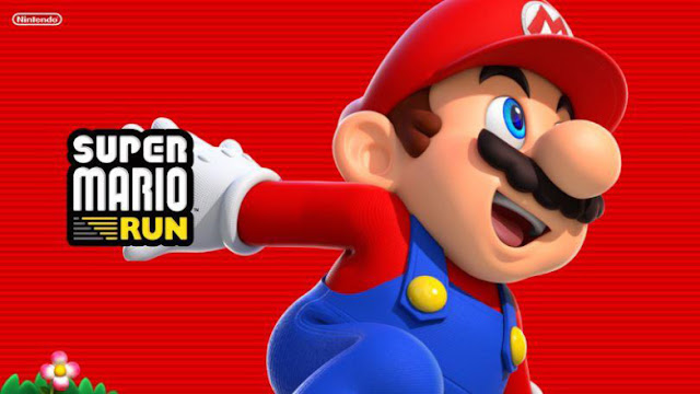 Super Mario Run game for Android device from Nintendo