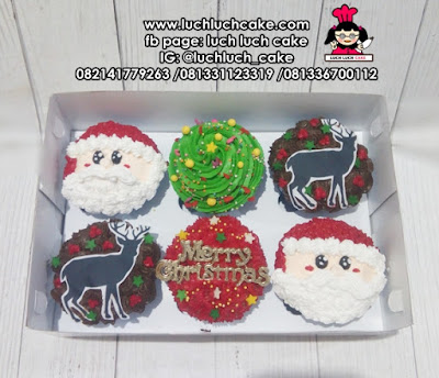 Christmas Cupcake Buttercream