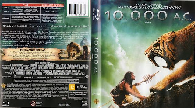 Capa Blu-ray 10.000 A.C.
