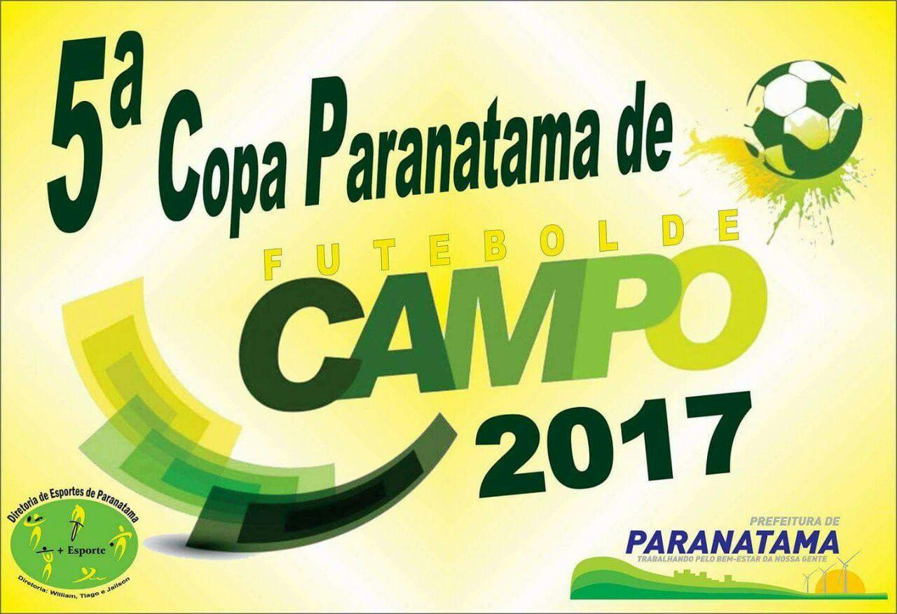 131739c04855f Confira tabelas e notícias da Copa Paranatama