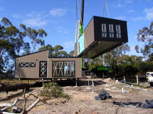 Flat Pack Container Homes