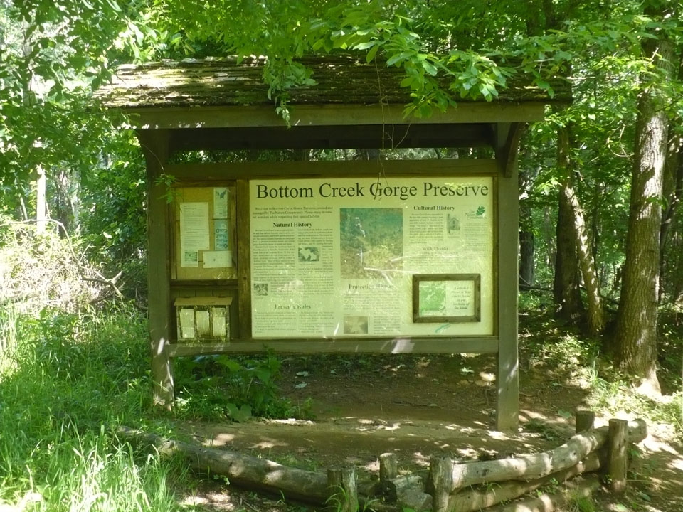 Bottom creek gorge pictures