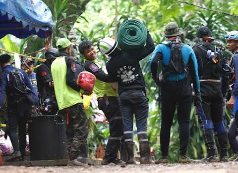Kábítószert adtak a mentés előtt a thaiföldi barlangban rekedt gyerekeknek