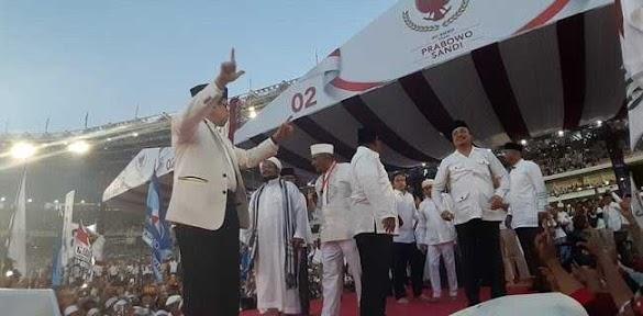 GBK Memutih Bukti Jokowi Gagal Perbaiki Ekonomi
