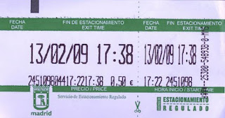 Ticket Zona Azul