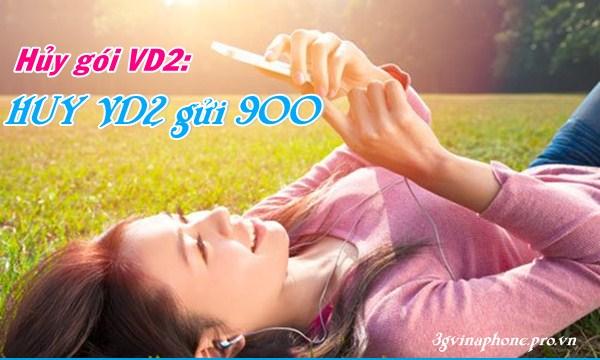 Hướng dẫn hủy gói cước VD2 của Vinaphone