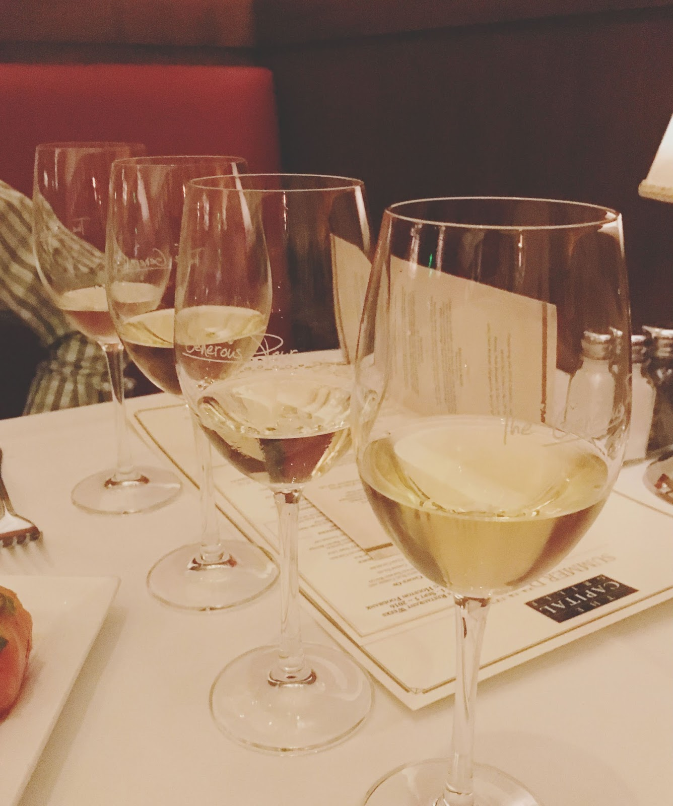 The Generous Pour Summer Wine Event at The Capital Grille - A restaurant in Houston, Texas