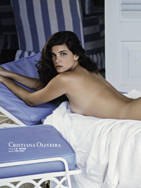 Fotos de Cristiana Oliveira nua pelada na Playboy