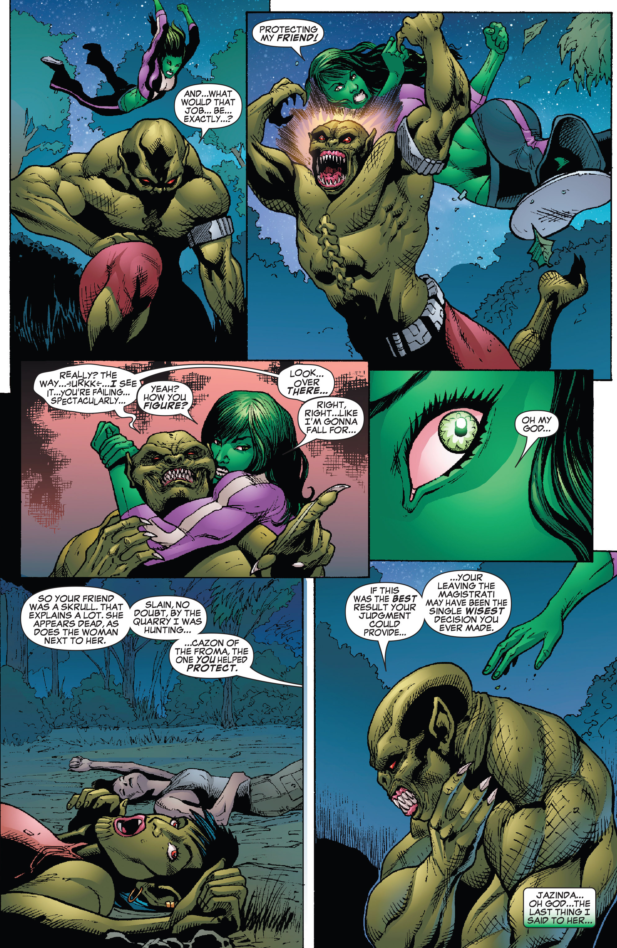 Read online She-Hulk (2005) comic -  Issue #26 - 7