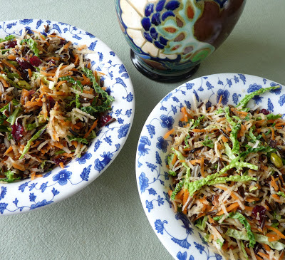 Wild Rice and Root Vegetable Salad
