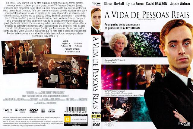 Capa DVD A Vida de Pessoas Reais