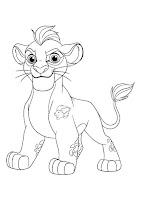 דפי צביעה משמר האריות