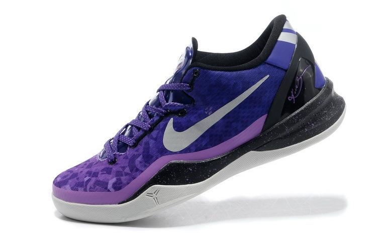 detailed pictures 8bdb1 0920b Nike Kobe 8 – Playoffs Court Purple Pure Platinum Blackened Blue-Laser  Purple 555035-500 05 11 13