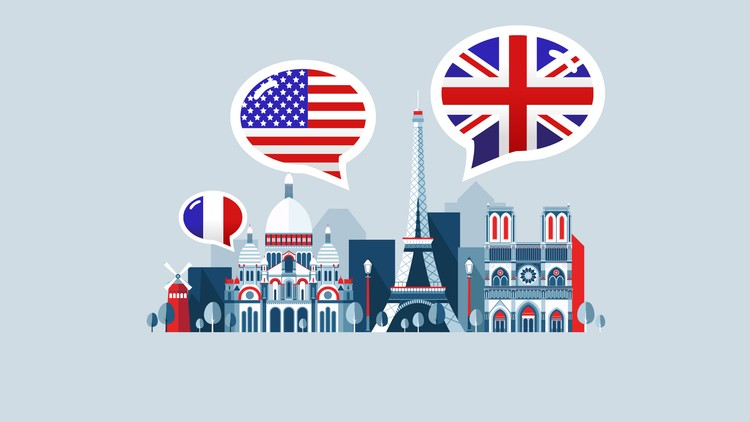 American English for French Speakers Free Coupon