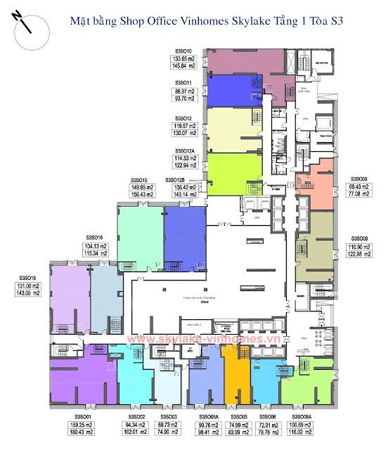 mat-bang-shop-office-vinhomes-skylake-toa-s3