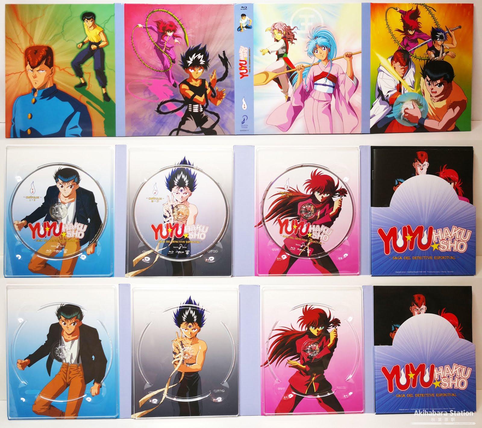 "Review de ""Yū Yū Hakusho"" Box.1 ed. Coleccionistas - SelectaVisión"