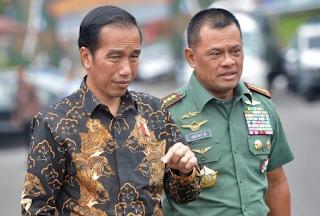 Akibat Panik, Jokowi Salah Reaksi Kepada TNI