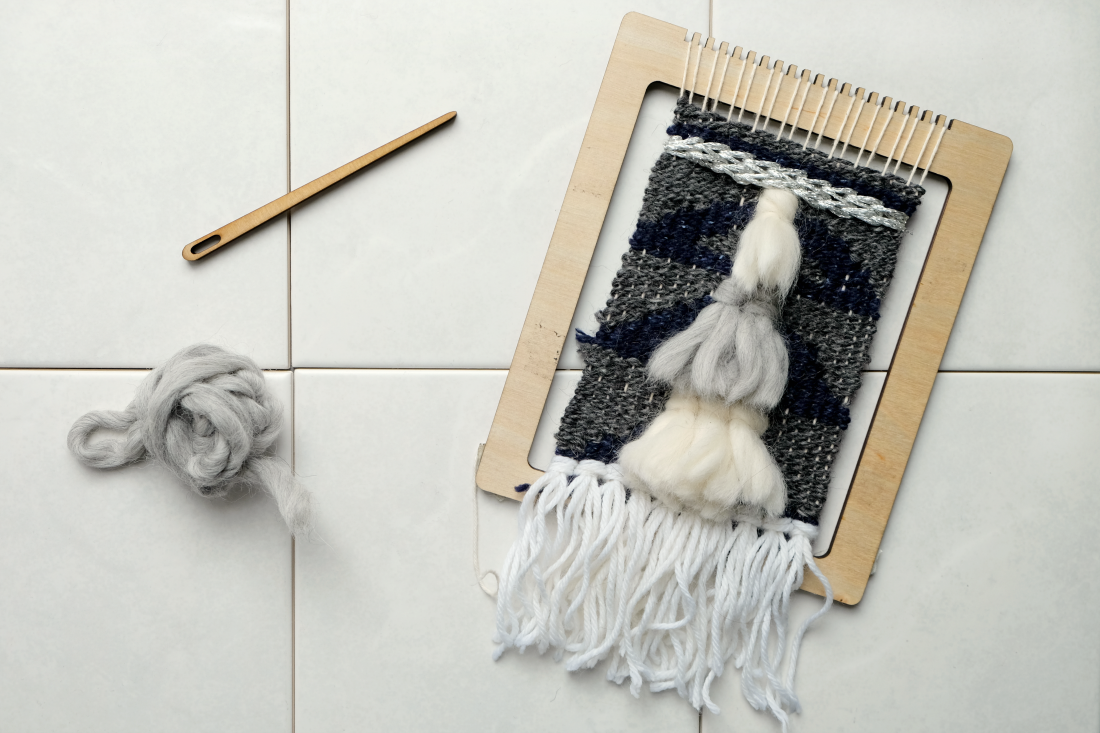 DIY Weaving Kit from Uncommon Goods