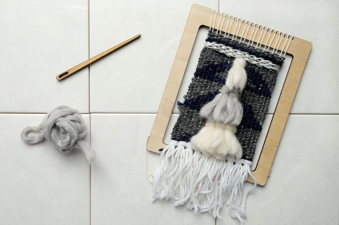 DIY Weaving Kit from Uncommon Goods