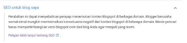 Haruskah Menggunakan Script Redirect .co.id ke blogspot.com dan Dampaknya Terhadap SEO