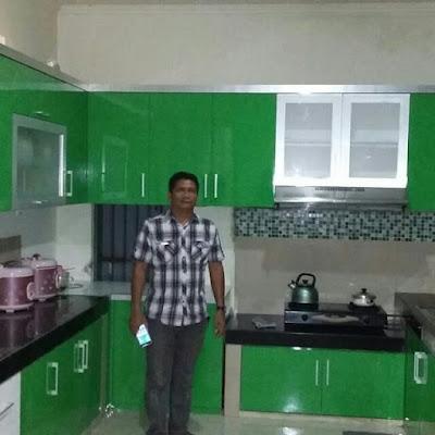 Gambar Kitchen Set Minimalis Deltamas Cikarang Pusat