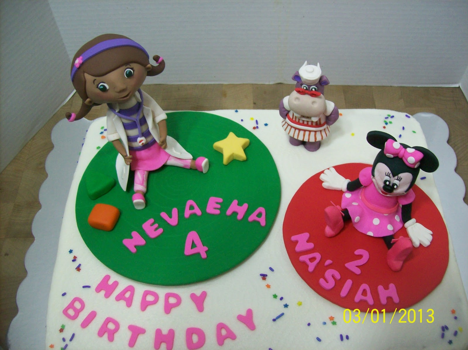 Doc Mcstuffins Birthday Cake Ideas And Designs