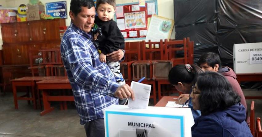 Perú celebra un Referéndum con 4 Preguntas y Segunda Vuelta Elecciones Regionales 2018