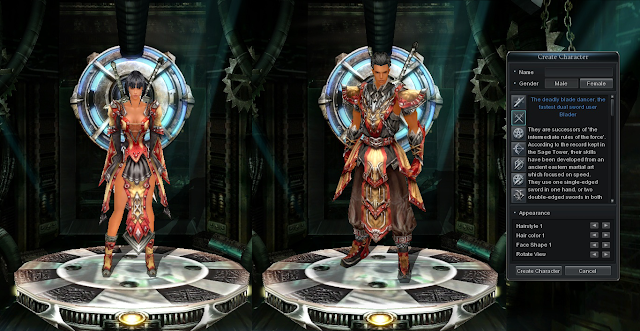 Blader - The 7 Battle Styles of Cabal Online