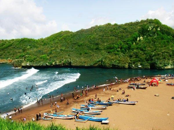 7 Tempat Wisata Yogyakarta Terbaik Paling Josss-Pantai Baron