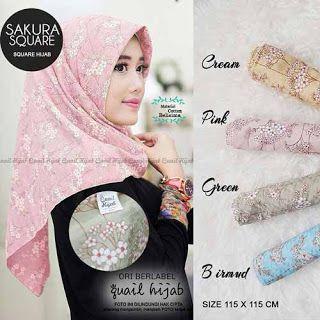Sakura Square Hijab
