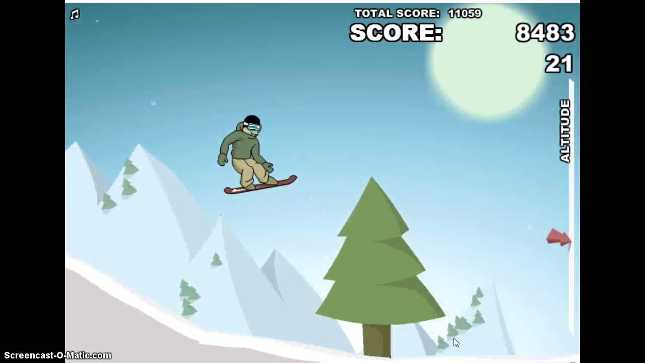 Unblocked Snowboarding Games