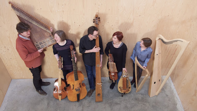 The Society of Strange and Ancient Instruments (image courtesy of the ensemble)