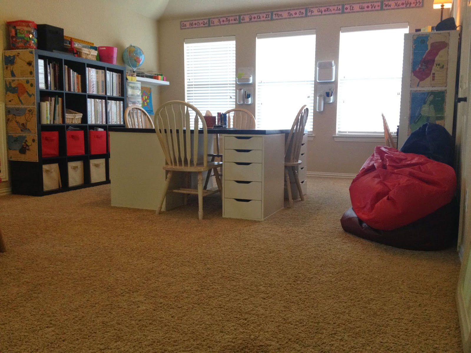 Cool A Tour Of Our Homeschool Room Lextin Eclectic Pdpeps Interior Chair Design Pdpepsorg