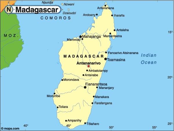 Elder Hayden James St John Madagascar - Where is madagascar