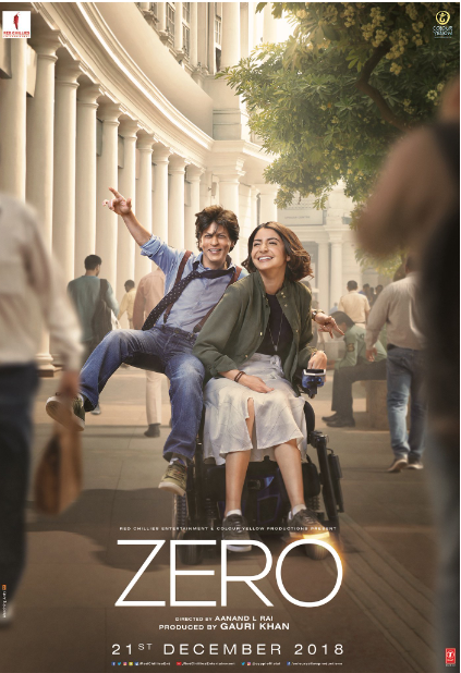 Zero Movie First Look, Poster