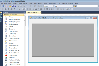 VB .NET - Cara Koneksi Database SQL Server