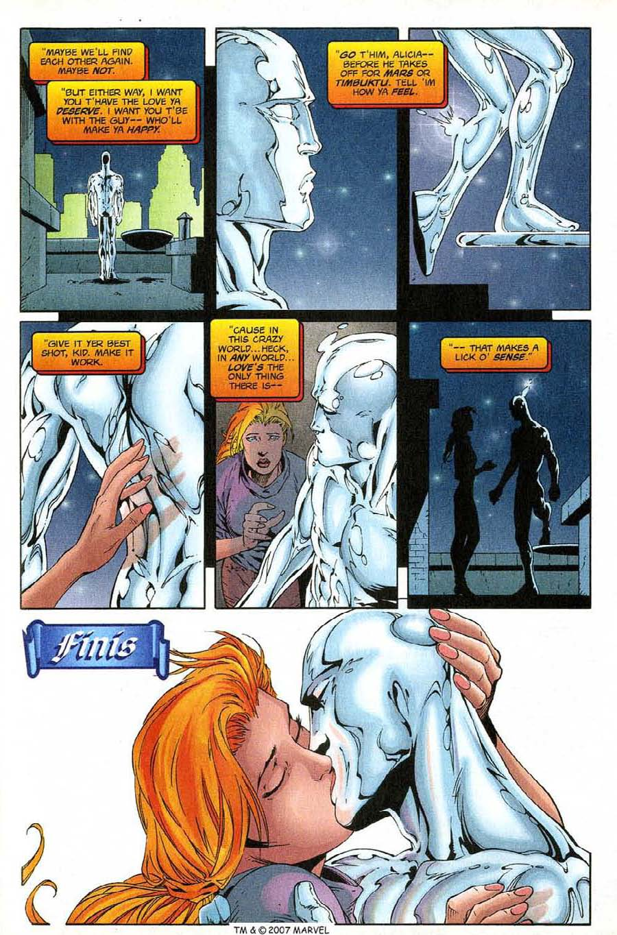 Read online Silver Surfer (1987) comic -  Issue #138 - 35