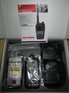 Handy Talky Vidatone V-E600 Dual Band UHF + VHF