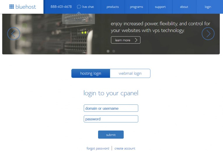Cpanel Bluehost Webmail