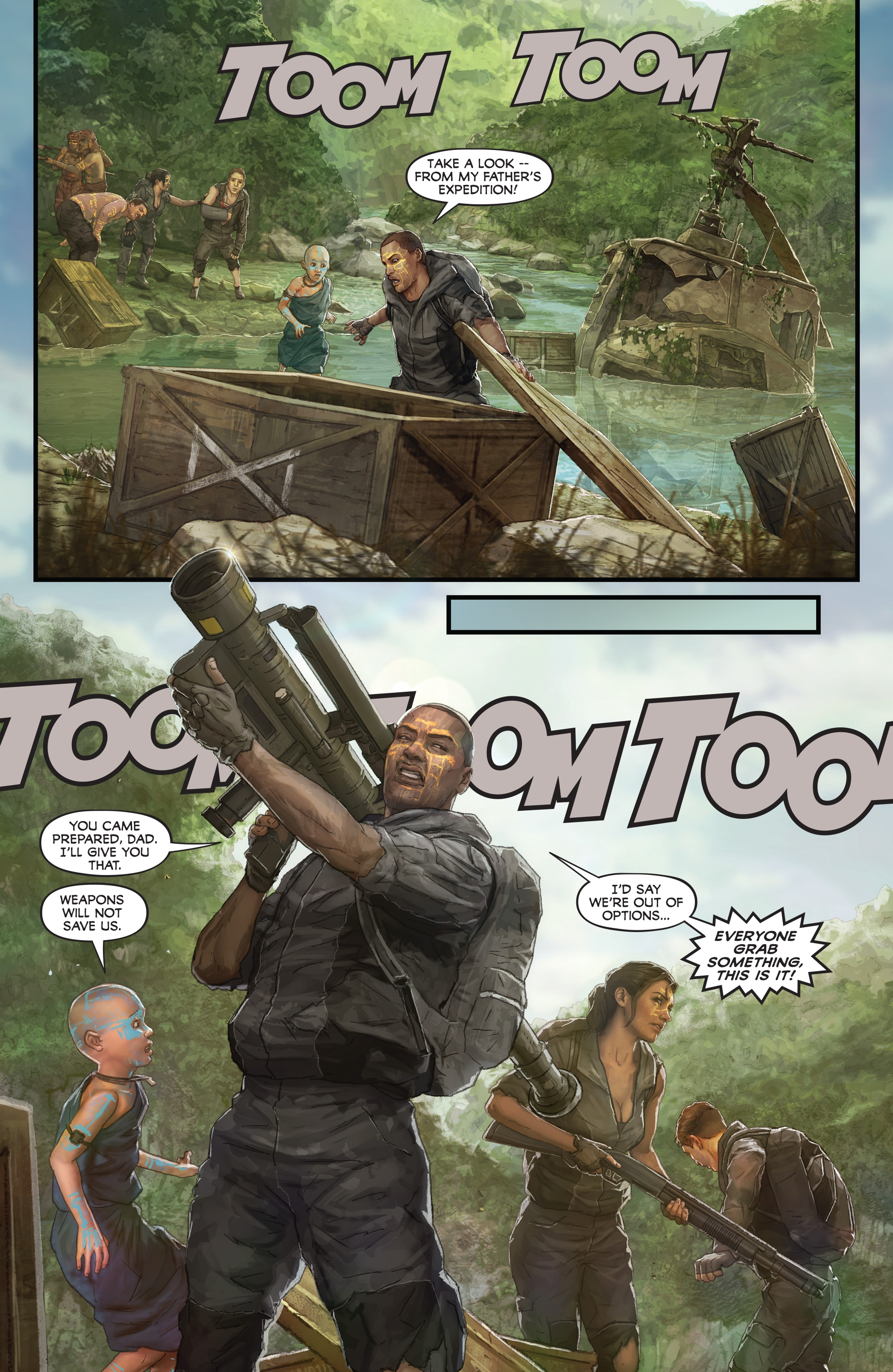 Read online Skull Island: The Birth of Kong comic -  Issue #2 - 19