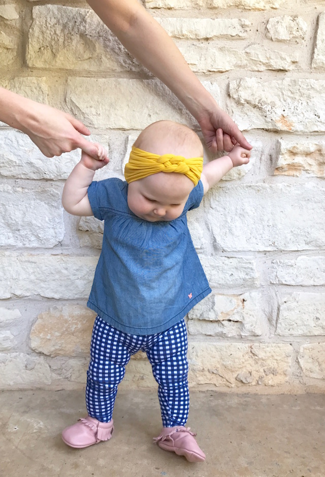 freshly picked moccasins, baby moccasins, baby shoes, baby style, baby turban, baby girl style, baby fashion, baby girl outfit, baby moccs, baby headband, siblings, kid fashion, kid style, austin mom blog, mom blog, mom blogger, twin mom