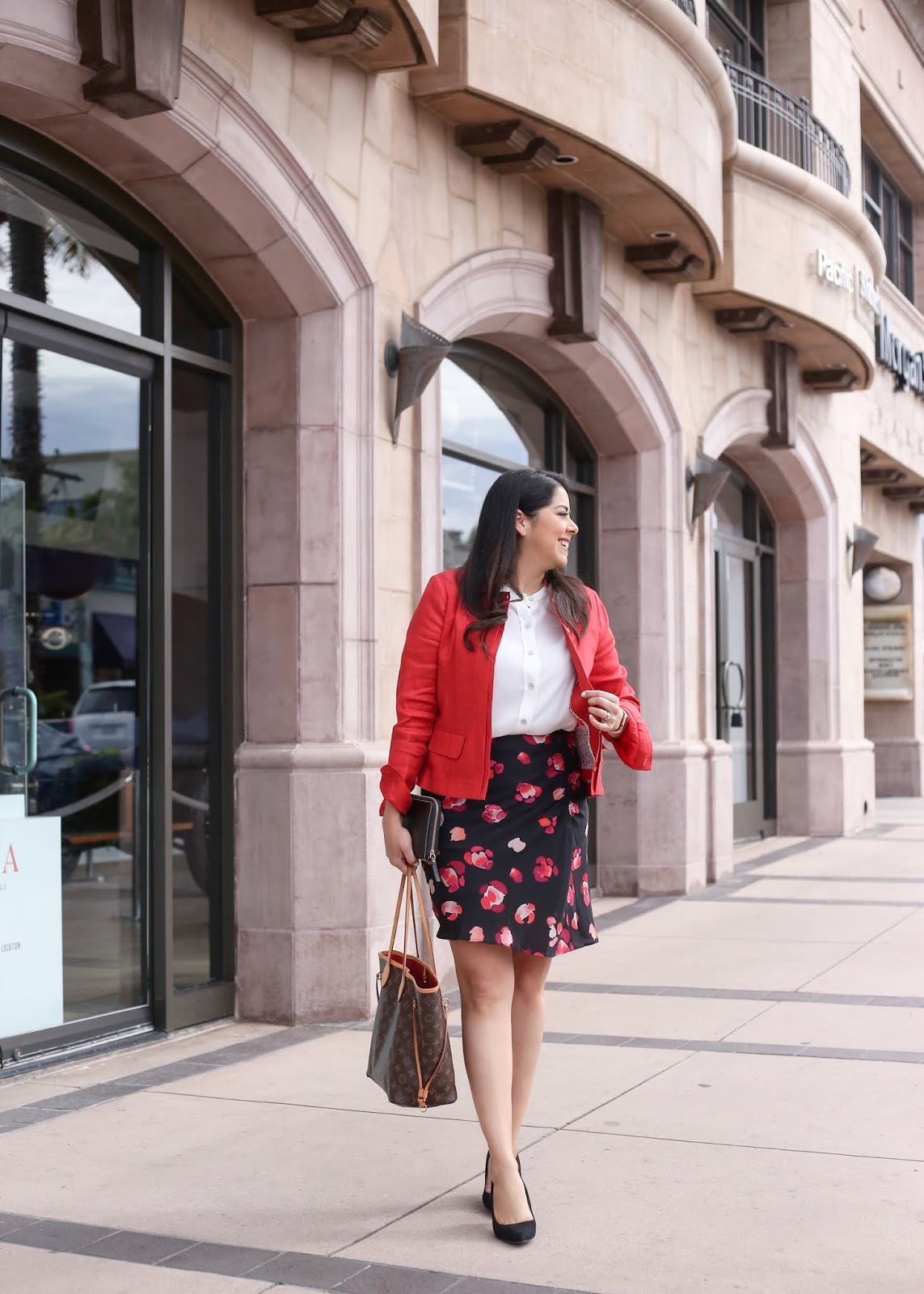 stylish work outfit, San Diego fashion blogger, San Diego influencer, San Diego top blogger