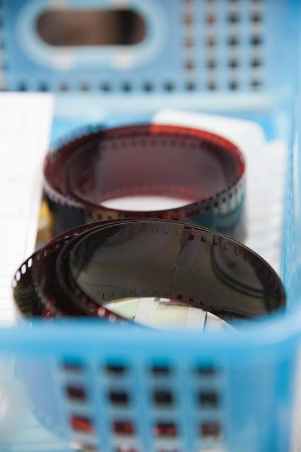 Ontwikkelde films op de rol