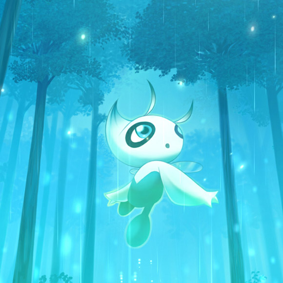 Celebi Pokemon Wallpaper Engine