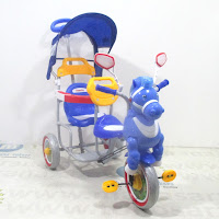 family f9061t kuda boncengan tricycle
