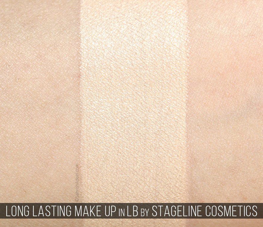 Long Lasting Make Up by Stageline Cosmetics - Review & Swatch